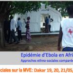 EBODAKAR 2015 : Colloque organisé par le réseau Ouest-Africain SHS Ebola les 19, 20 et 21 Mai 2015 à Dakar.